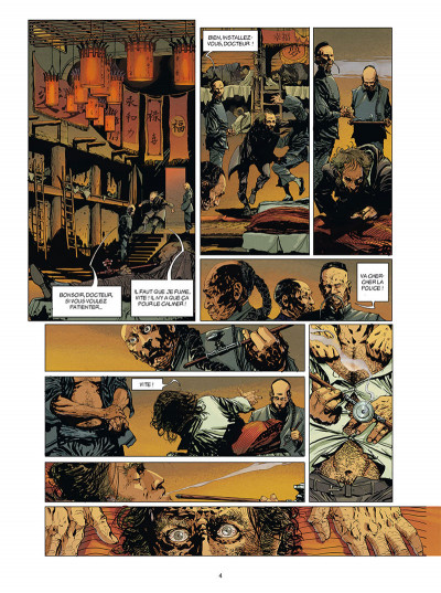 Page 2 Moriarty tome 1 + ex-libris offert