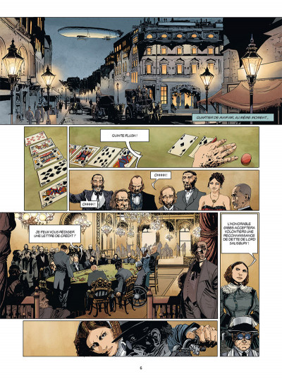 Page 4 Moriarty tome 1 + ex-libris offert