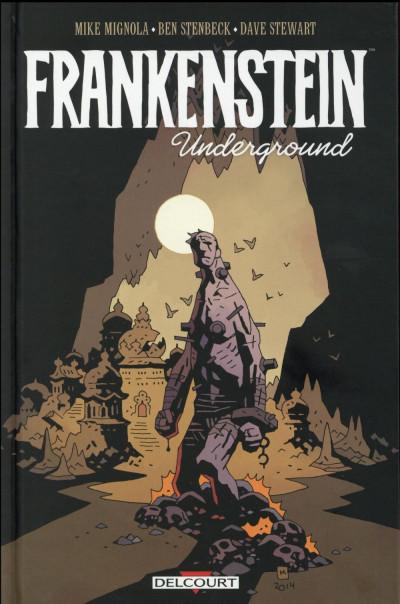Couverture Frankenstein underground