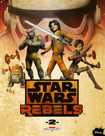 Couverture Star Wars - Rebels tome 2