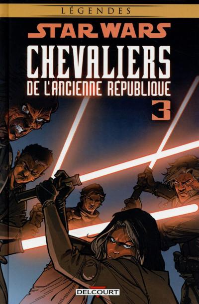 Couverture Star Wars - Chevaliers de l'Ancienne République tome 3 (édition 2015)