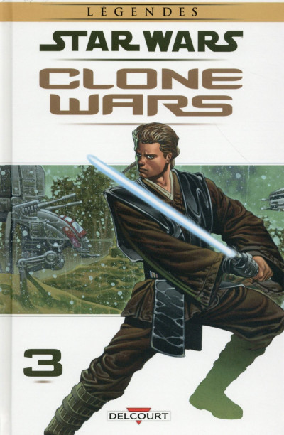 Couverture Star Wars - Clone Wars tome 3 (édition 2015)