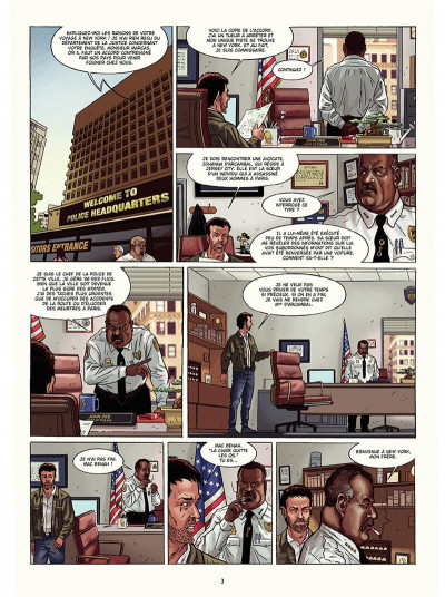 Page 4 Marcas, maître franc-maçon tome 5