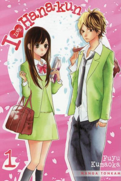 image de I Love Hana-Kun tome 1