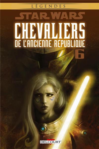 Couverture Star Wars - Chevaliers de l'ancienne république tome 6 (édition 2016)