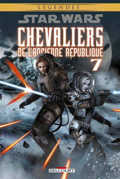 Couverture Star Wars - Chevaliers de l'ancienne république tome 7 (édition 2016)