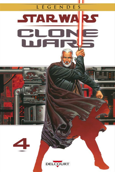 Couverture Star Wars - Clone wars tome 4 (édition 2015)