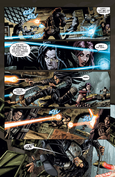 Page 3 Star Wars - Clone wars tome 4 (édition 2015)