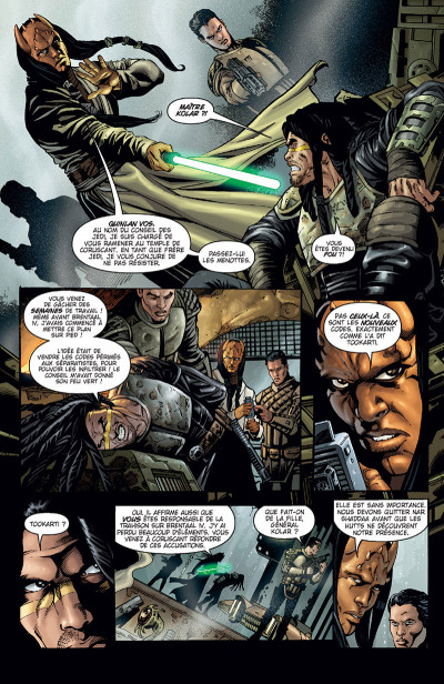 Page 4 Star Wars - Clone wars tome 4 (édition 2015)