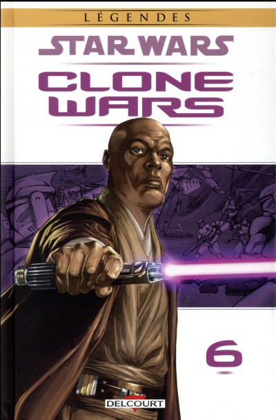 Couverture Star Wars - Clone wars tome 6 - édition 2016