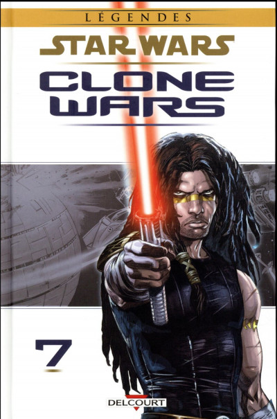 Couverture Star Wars - Clone wars tome 7 - édition 2017