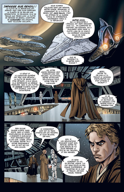 Page 1 Star Wars - Clone wars tome 7 - édition 2017