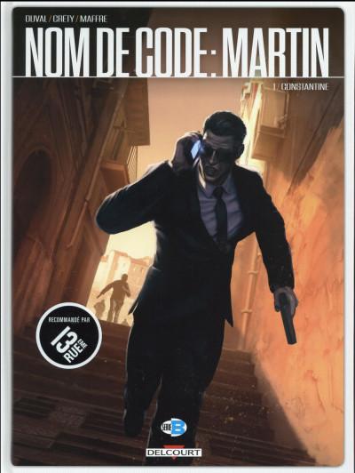 Couverture Nom de code : Martin tome 1