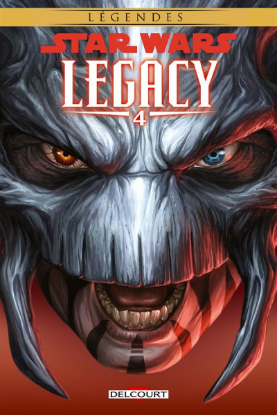 Couverture Star Wars - Legacy tome 4 (édition 2015)