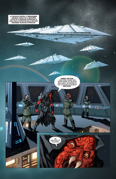 Page 1 Star Wars - Legacy tome 4 (édition 2015)