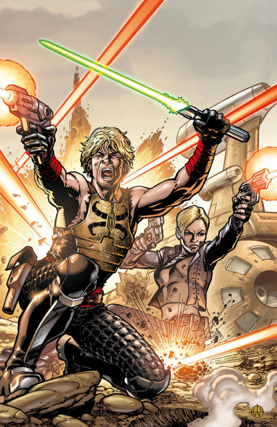 Page 3 Star Wars - Legacy tome 7 (édition 2017)