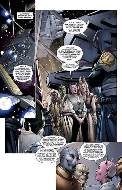 Page 1 Star Wars - Legacy tome 8 (édition 2017)
