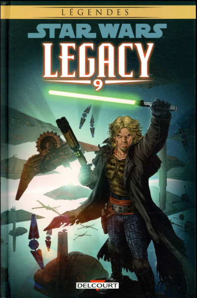 Couverture Star wars - legacy tome 9 (édition 2018)