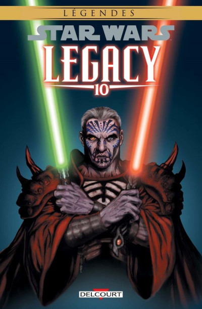 Couverture Star wars - legacy tome 10 (édition 2018)