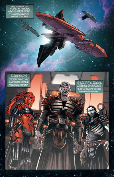 Page 1 Star wars - legacy tome 10 (édition 2018)