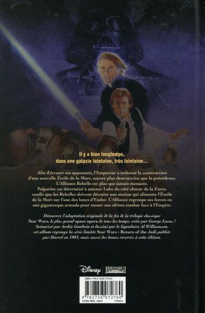 Dos Star Wars Épisode VI - Le Retour du Jedi (édition 2015)