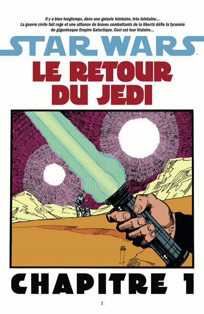 Page 6 Star Wars Épisode VI - Le Retour du Jedi (édition 2015)