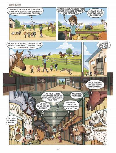 Page 5 À Cheval ! tome 1