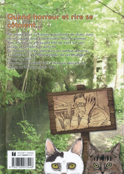 Dos Le Journal des chats de Junji Ito