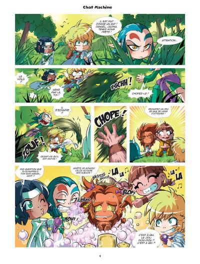 Page 4 Les légendaires - Parodia tome 1