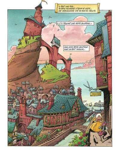 Page 1 Contes des frères Grimm en BD