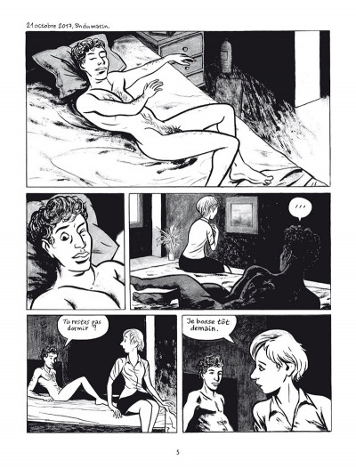 Page 1 Polaris - la nuit de Circé