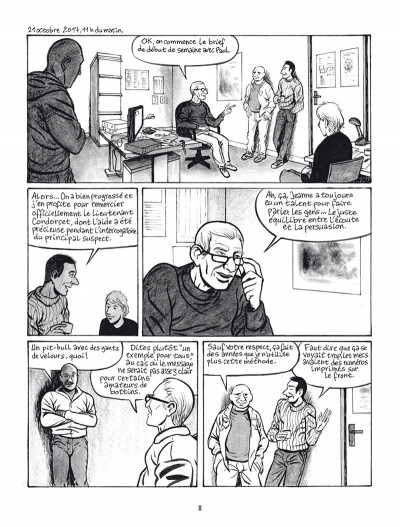 Page 4 Polaris - la nuit de Circé
