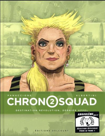 Couverture Chronosquad tome 2