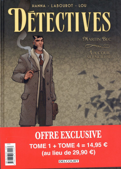 Dos Détectives - Pack Promo tome 4 + tome 1 (1 tome offert)