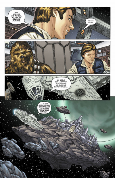 Page 0 Star Wars - Icones tome 1