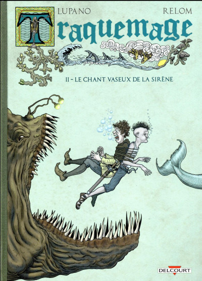 Couverture Traquemage tome 2