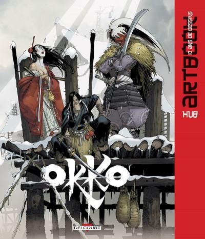 Couverture Okko - Artbook, 10 ans de dessins
