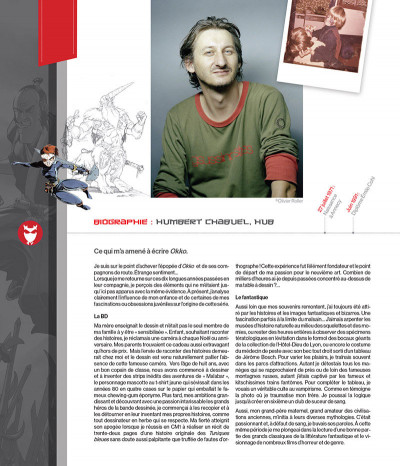 Page 1 Okko - Artbook, 10 ans de dessins