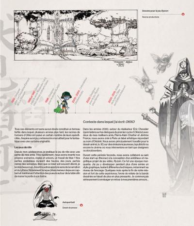 Page 2 Okko - Artbook, 10 ans de dessins