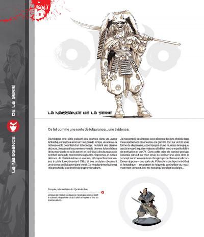 Page 3 Okko - Artbook, 10 ans de dessins