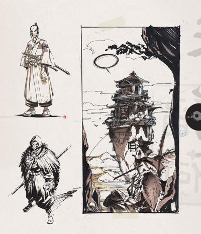 Page 4 Okko - Artbook, 10 ans de dessins