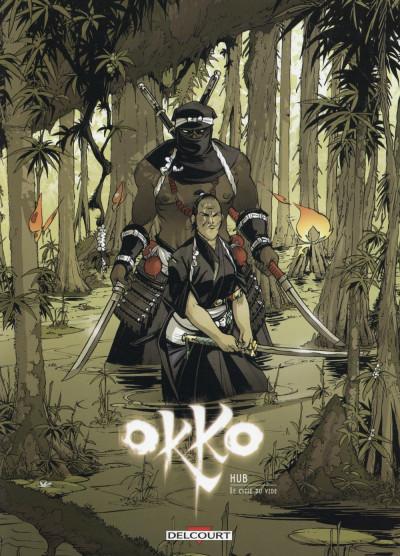 Couverture Okko - Étui jaquette tome 9 + tome 10