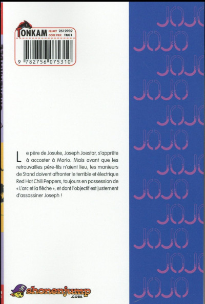 Dos Jojo's bizarre adventure - Diamond is unbreakable tome 6