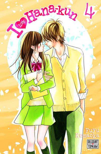 Couverture I love Hana-kun tome 4
