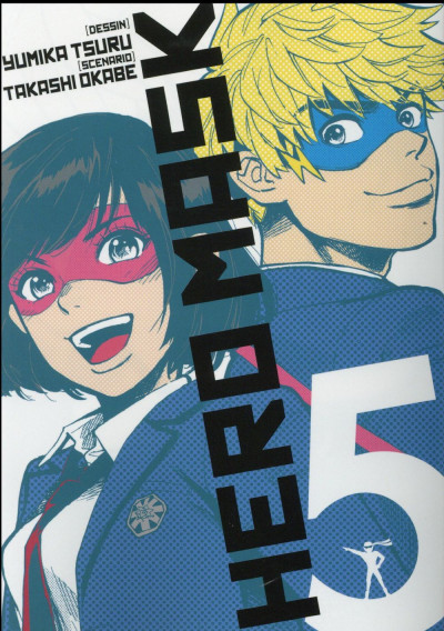 Couverture Hero mask tome 5