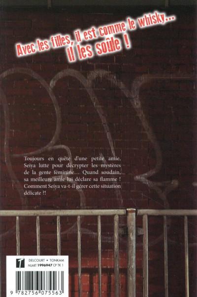 Dos Pourquoi Seiya Todoïn, 16 ans, n'arrive pas à pécho ? tome 2