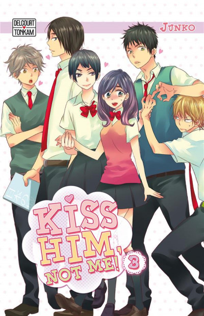 Couverture Kiss him, not me ! tome 3