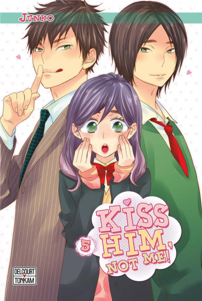 Couverture Kiss him, not me ! tome 5