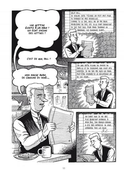 Page 3 Secret de famille - Une histoire écrite à l'encre sympathique