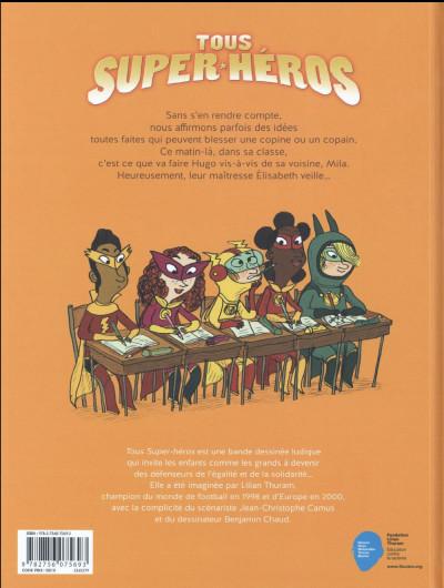 Dos Tous super-héros tome 1